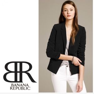 NWT Petite Banana Republic Sleek Suit Blazer